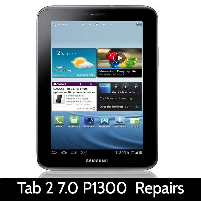tablet repairs samsung samsung tab 2 7 0 p1300 repairs type of repair